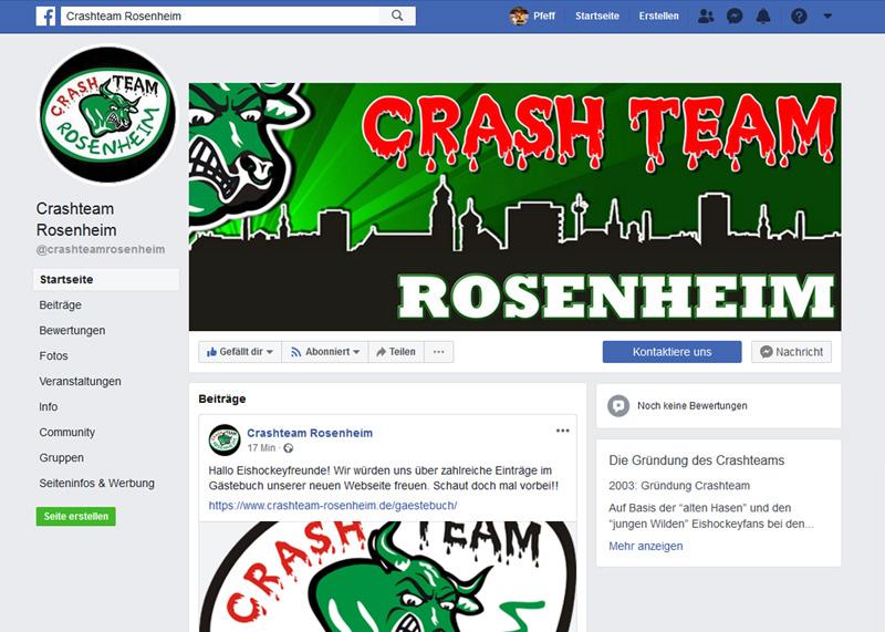 Neue CT Facebookseite geht online