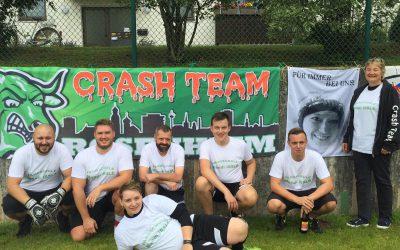 Crashteam beim IC Fußballturnier