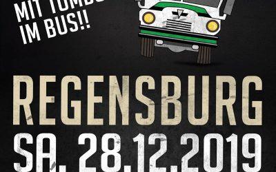 Am 28.12.19: Fanbus nach Regensburg