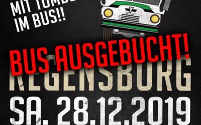 SOLD OUT: Fanbus nach Regensburg ist ausgebucht!