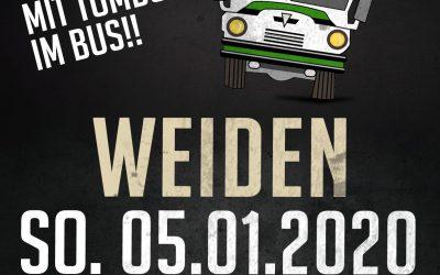 Am 05.01.20: Fanbus nach Weiden