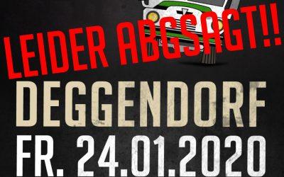 Fanbus nach Deggendorf am 24.01. abgesagt!