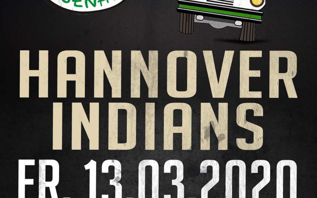 Bus zum 1. Playoffspiel bei den Hannover Indians