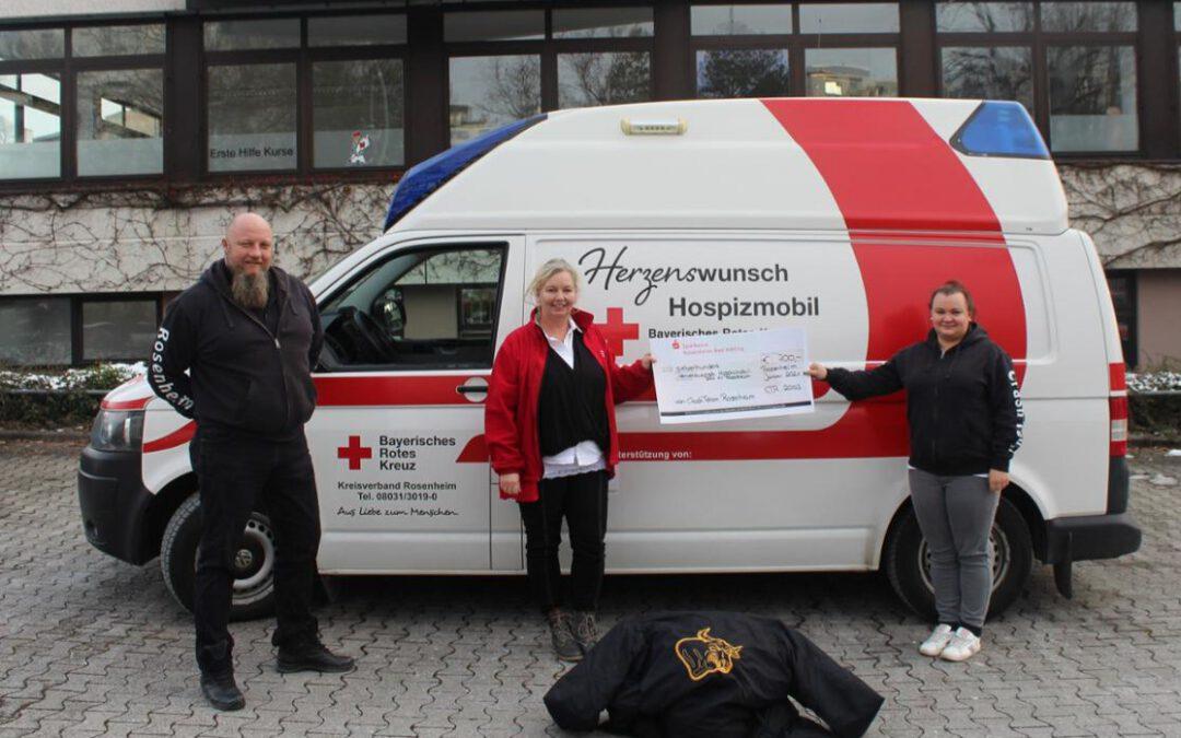 Crashteam Rosenheim spendet für soziale Einrichtungen